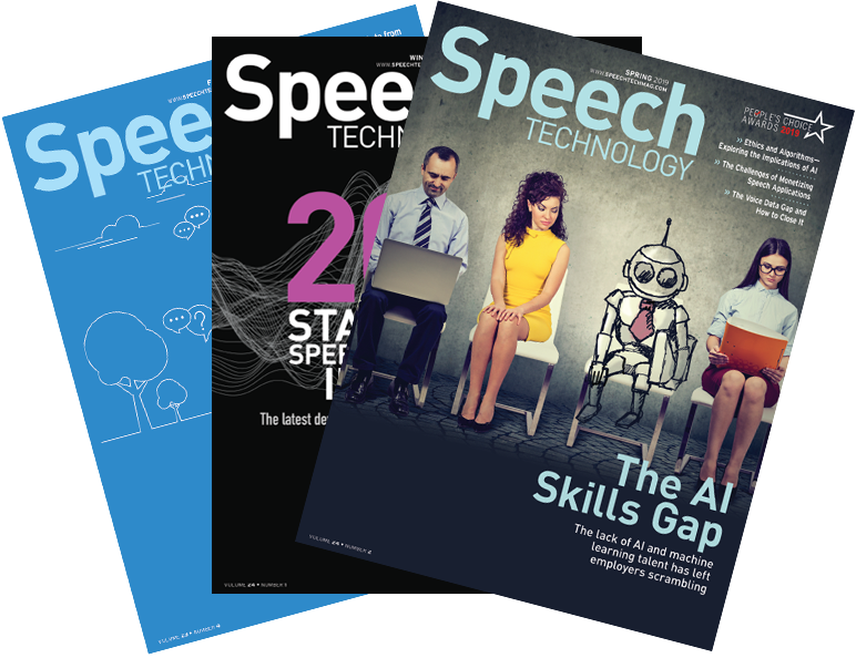 Speech Technology - comprehensive, independent coverage of